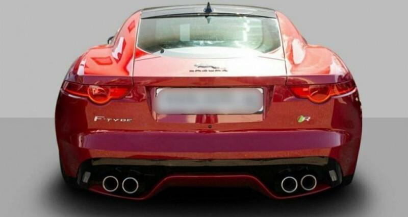 Jaguar F-Type Coupe 5.0 V8 550ch R BVA8 Rouge occasion à Boulogne-Billancourt - photo n°5