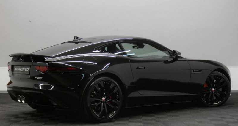 Jaguar F-Type P380 Supercharged R-Dynamic AW Noir occasion à Luxembourg - photo n°4