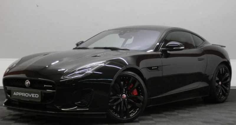 Jaguar F-Type P380 Supercharged R-Dynamic AW Noir occasion à Luxembourg