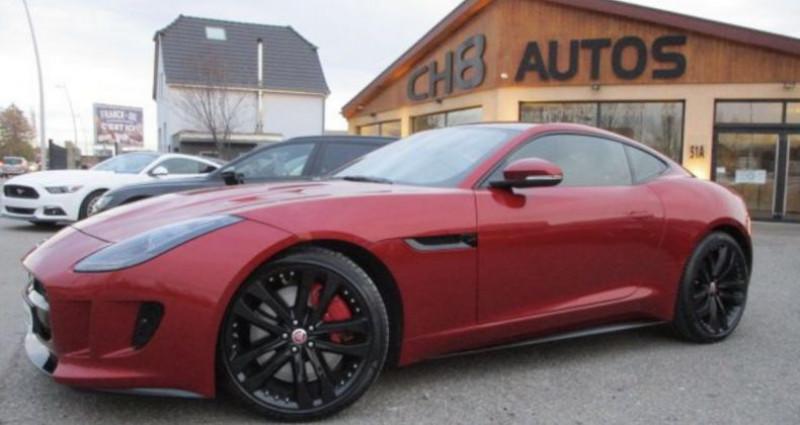 Jaguar F-Type R Coup? AWD 551 ch toit panoramique 4 roues Rouge occasion à RIXHEIM - photo n°2