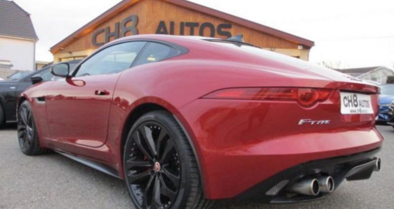 Jaguar F-Type R Coup? AWD 551 ch toit panoramique 4 roues Rouge occasion à RIXHEIM - photo n°5