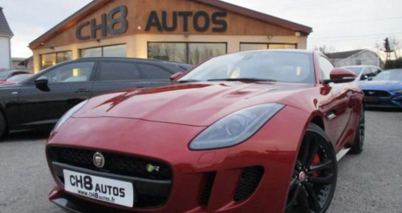 Jaguar F-Type R Coup? AWD 551 ch toit panoramique 4 roues Rouge occasion à RIXHEIM