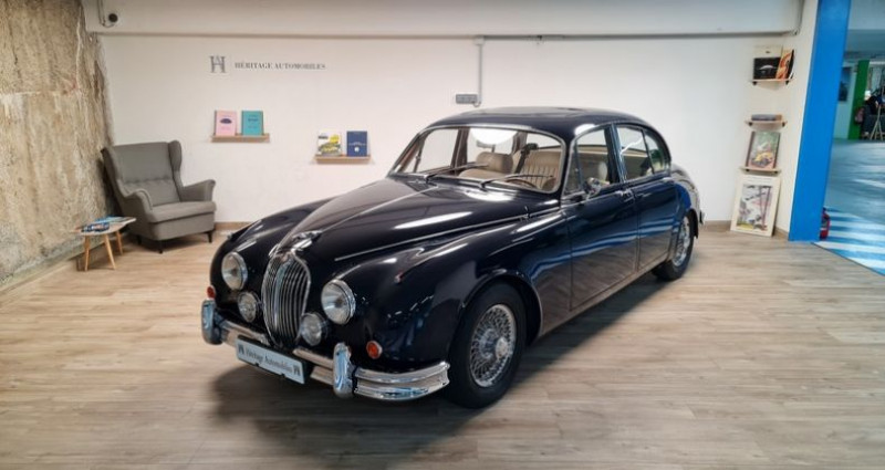 Jaguar MK II 3.8 Vicarage Bleu occasion à Neuilly-sur-Seine