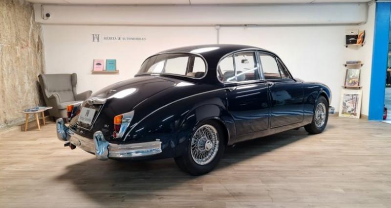 Jaguar MK II 3.8 Vicarage Bleu occasion à Neuilly-sur-Seine - photo n°4