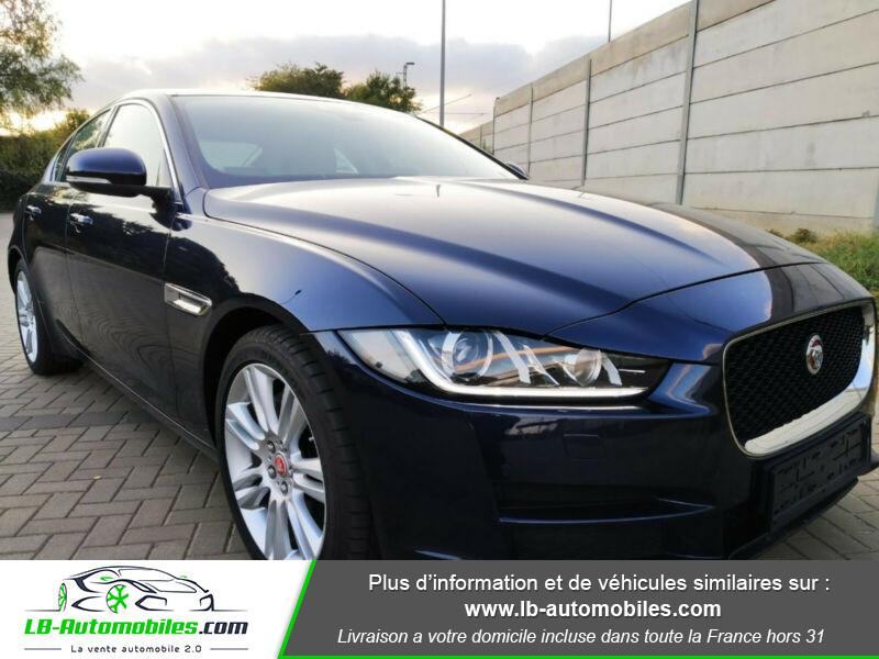 Jaguar XE 2.0 D 180 ch Bleu occasion à Beaupuy - photo n°7