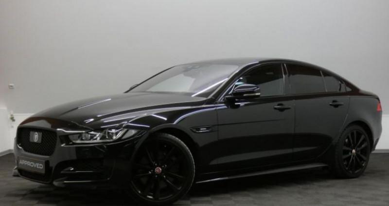 Jaguar XE 2.0 D 240 R-Sport Auto. Noir occasion à Petange