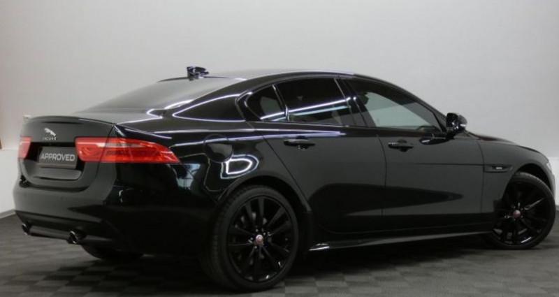Jaguar XE 2.0 D 240 R-Sport Auto. Noir occasion à Petange - photo n°4