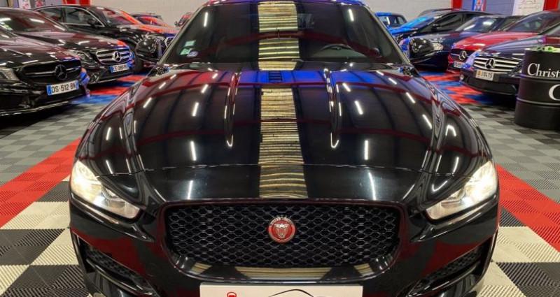 Jaguar XE 2.0 i4 240 TURBO Noir occasion à Brie-Comte-Robert