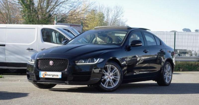 Jaguar XE 2.0D 180 PRESTIGE BVA Noir occasion à Chambourcy