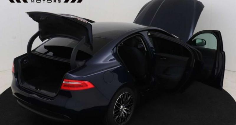 Jaguar XE 2.0D E-Performance - NAVI - XENON -12M GARANTIE Bleu occasion à Brugge - photo n°2