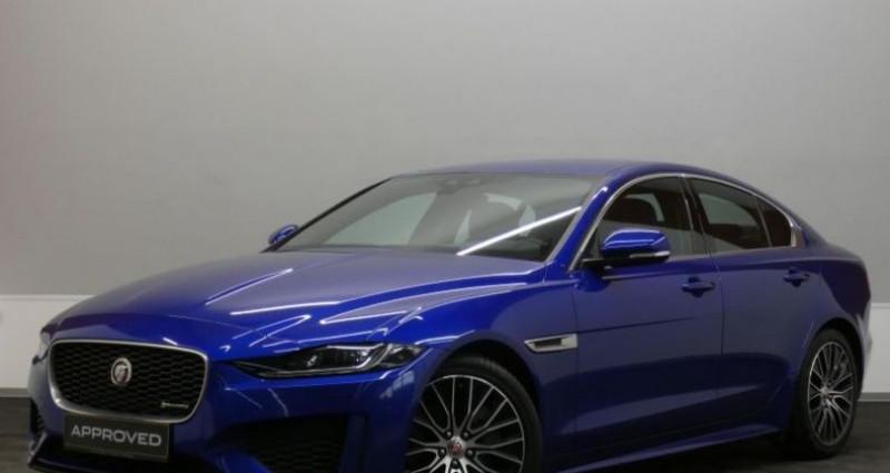 Jaguar XE D180 R-Dynamic S Auto. Bleu occasion à Petange