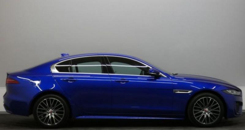 Jaguar XE D180 R-Dynamic S Auto. Bleu occasion à Petange - photo n°3