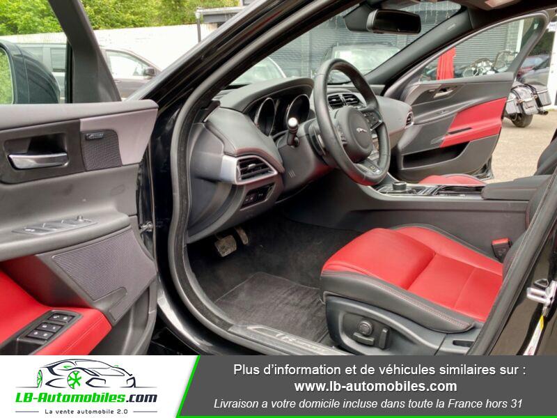 Jaguar XE V6 3.0 - 340 Noir occasion à Beaupuy - photo n°4