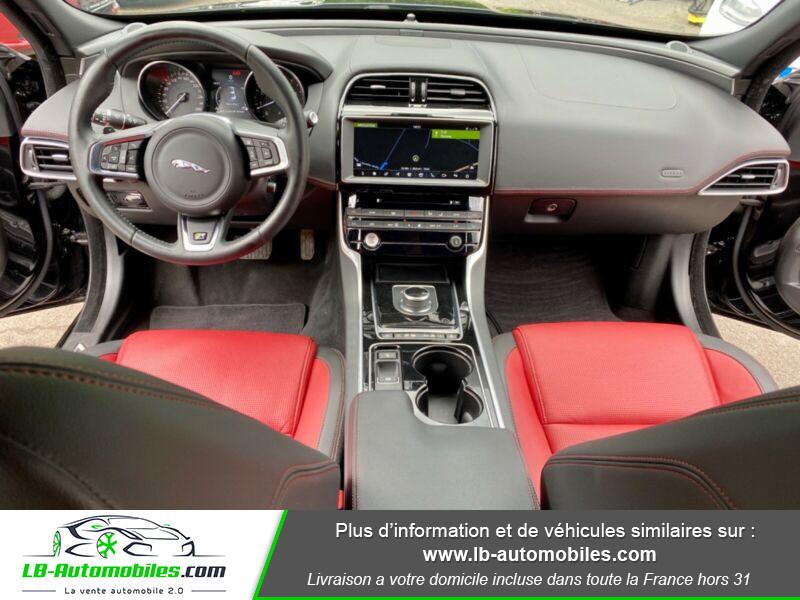Jaguar XE V6 3.0 - 340 Noir occasion à Beaupuy - photo n°2