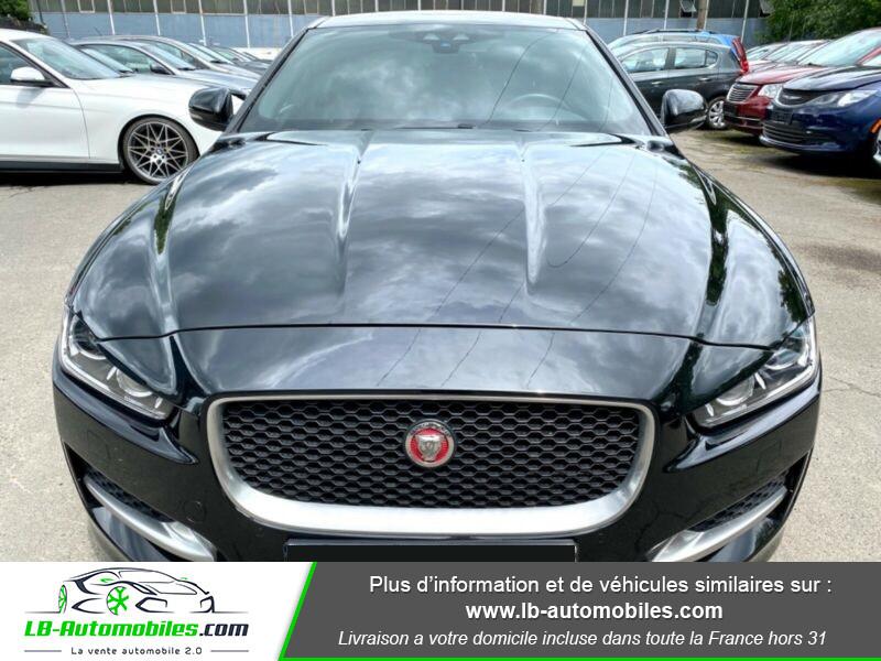 Jaguar XE V6 3.0 - 340 Noir occasion à Beaupuy - photo n°9