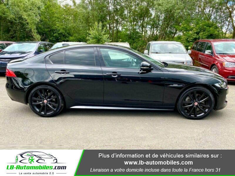 Jaguar XE V6 3.0 - 340 Noir occasion à Beaupuy - photo n°13