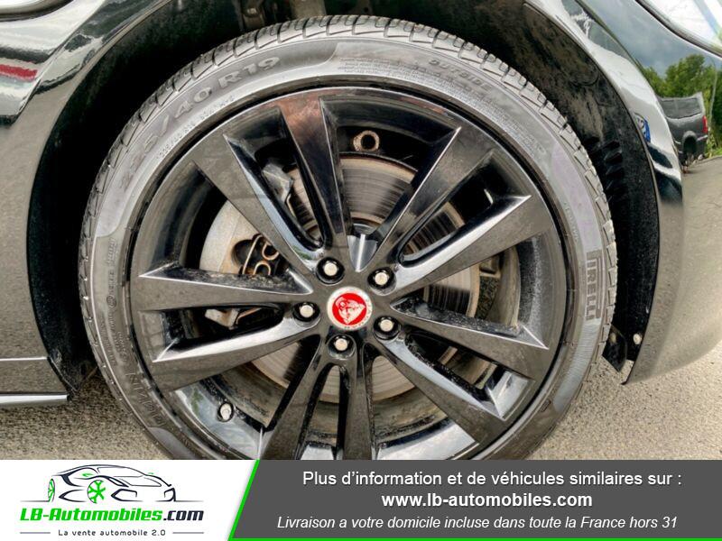 Jaguar XE V6 3.0 - 340 Noir occasion à Beaupuy - photo n°14