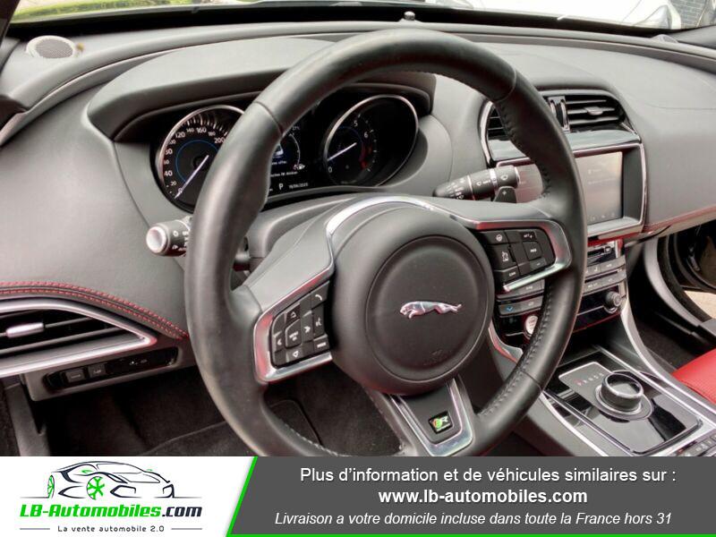 Jaguar XE V6 3.0 - 340 Noir occasion à Beaupuy - photo n°6