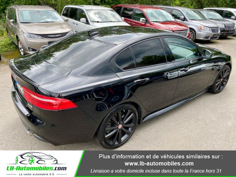 Jaguar XE V6 3.0 - 340 Noir occasion à Beaupuy - photo n°3