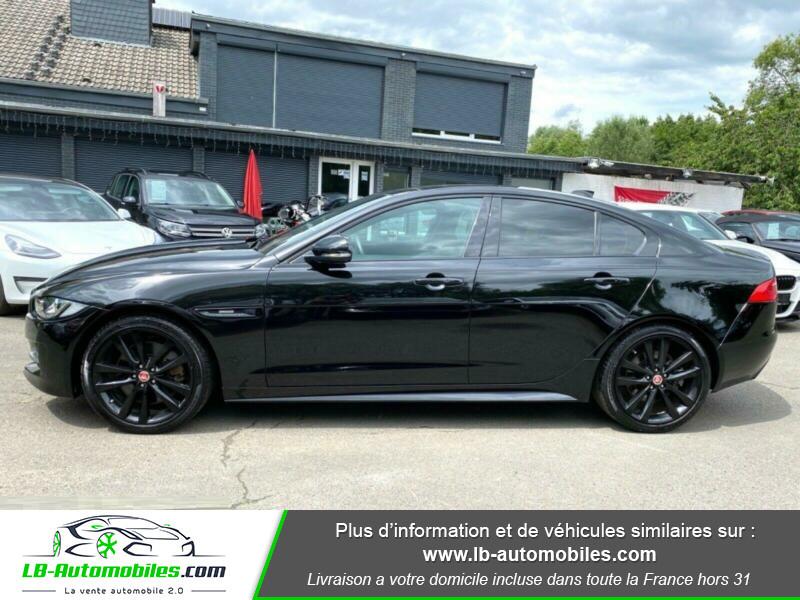 Jaguar XE V6 3.0 - 340 Noir occasion à Beaupuy - photo n°12