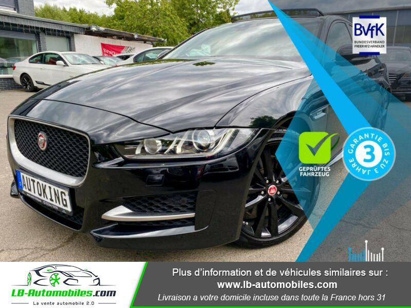 Jaguar XE V6 3.0 - 340 Noir occasion à Beaupuy - photo n°15