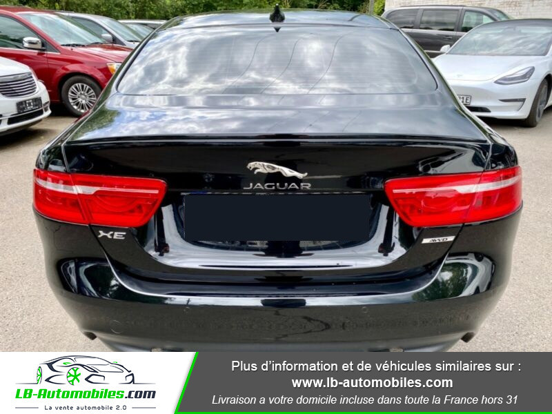 Jaguar XE V6 3.0 - 340 Noir occasion à Beaupuy - photo n°10