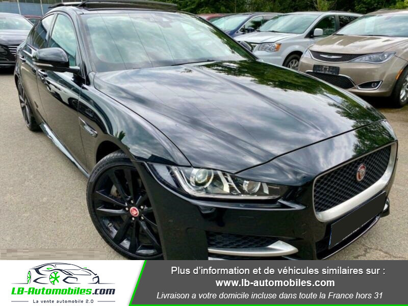 Jaguar XE V6 3.0 - 340 Noir occasion à Beaupuy