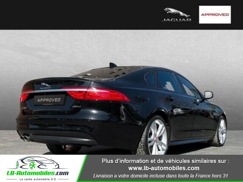 Jaguar XF 2.0 D 180 ch R-Sport Noir occasion à Beaupuy - photo n°3