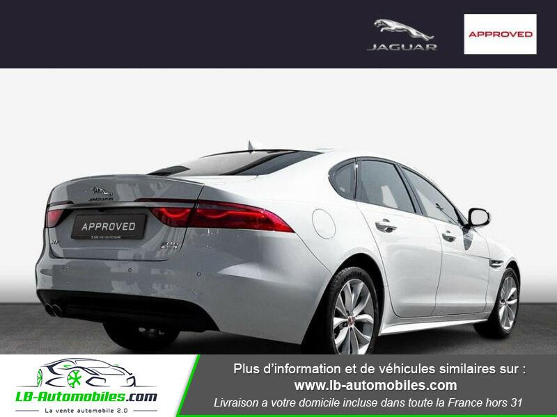 Jaguar XF 2.0 D 180 ch R-Sport Blanc occasion à Beaupuy - photo n°3