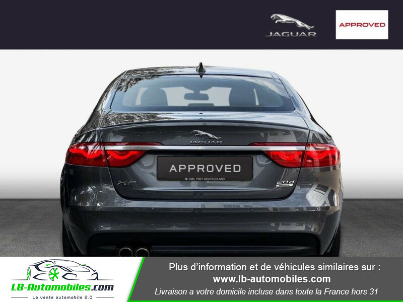 Jaguar XF 2.0 D 180 ch R-Sport Gris occasion à Beaupuy - photo n°6