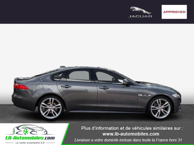 Jaguar XF 2.0 D 180 ch R-Sport Gris occasion à Beaupuy - photo n°4