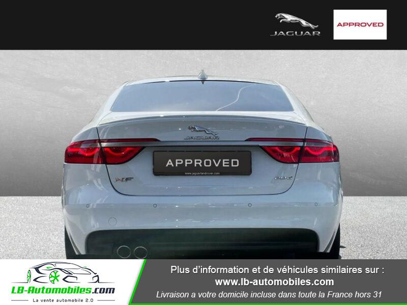 Jaguar XF 2.0 D 180 ch R-Sport Blanc occasion à Beaupuy - photo n°6