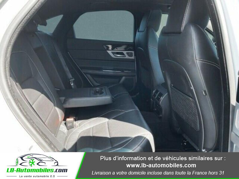 Jaguar XF 2.0 D 180 ch R-Sport Blanc occasion à Beaupuy - photo n°9