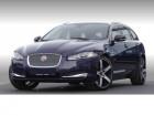 Jaguar XF 2.2 D Sportbrake 200 ch Bleu à Beaupuy 31