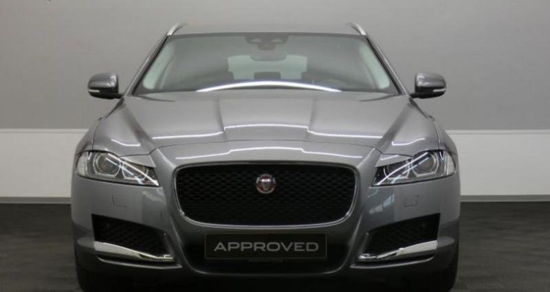 Jaguar XF 20d 180 Prestige Auto. Gris occasion à Petange - photo n°2