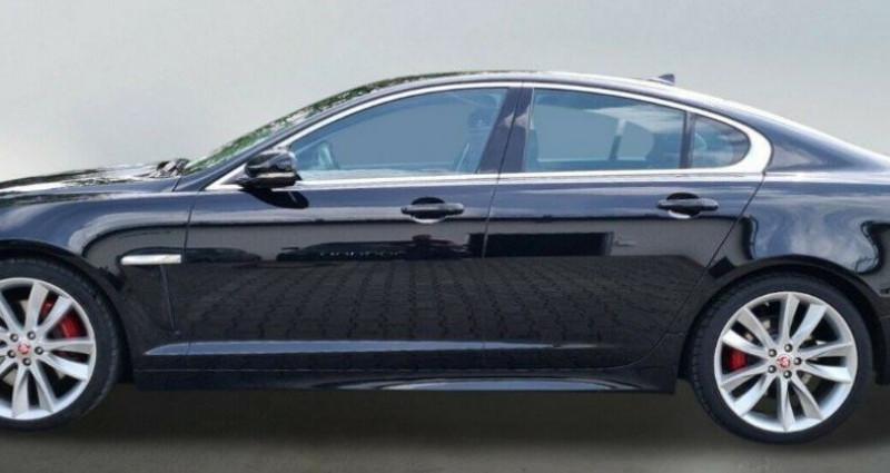 Jaguar XF 3.0 V6 D S 275 LUXE PREMIUM 08/2014  occasion à Saint Patrice - photo n°2