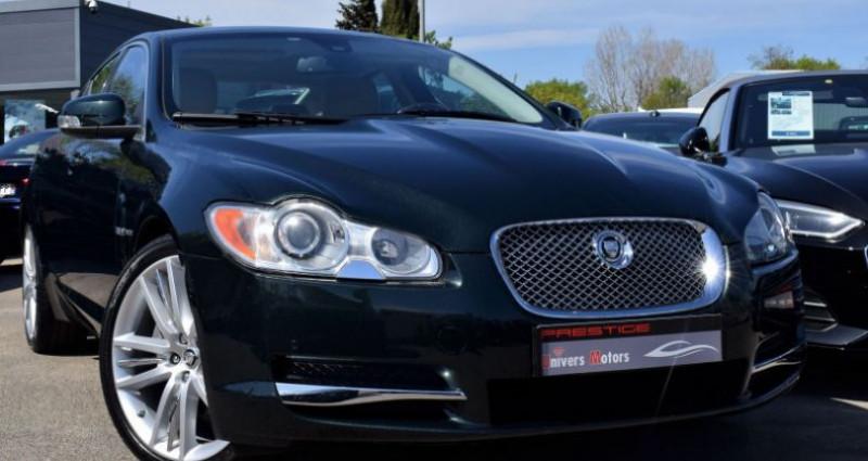 Jaguar XF 3.0 V6 LUXE PREMIUM ESSENCE Vert occasion à VENDARGUES