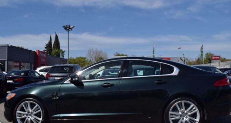 Jaguar XF 3.0 V6 LUXE PREMIUM ESSENCE Vert occasion à VENDARGUES - photo n°7