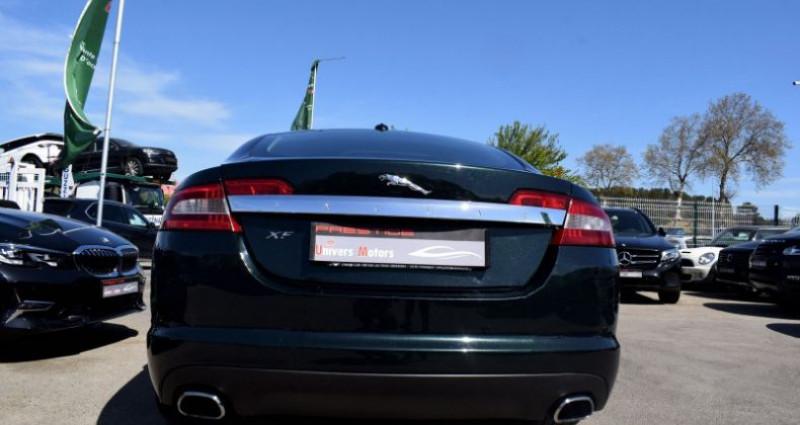Jaguar XF 3.0 V6 LUXE PREMIUM ESSENCE Vert occasion à VENDARGUES - photo n°5