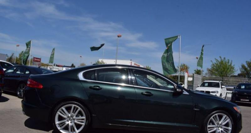 Jaguar XF 3.0 V6 LUXE PREMIUM ESSENCE Vert occasion à VENDARGUES - photo n°3