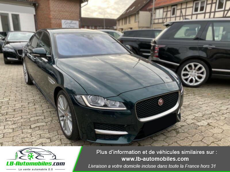 Jaguar XF V6 3.0 D - 300 ch Vert occasion à Beaupuy - photo n°7