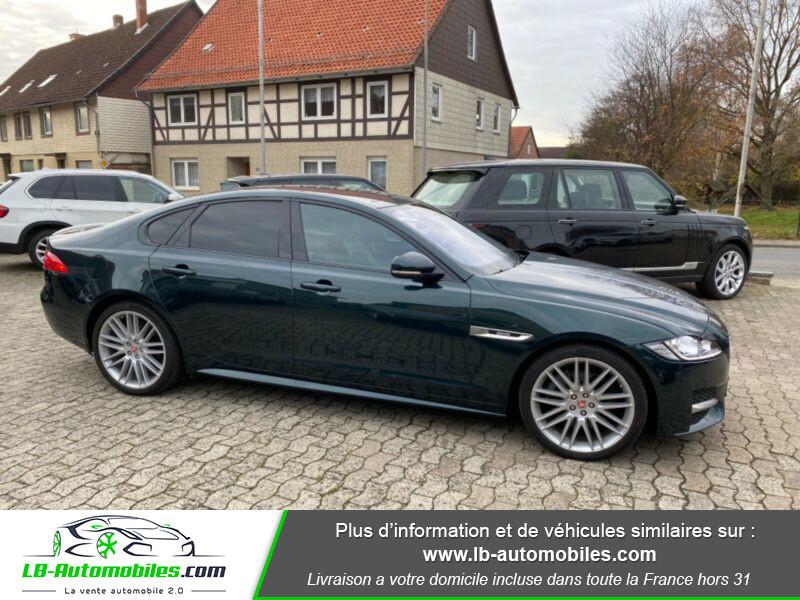 Jaguar XF V6 3.0 D - 300 ch Vert occasion à Beaupuy - photo n°12