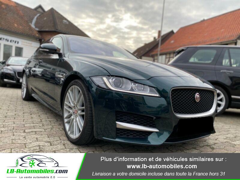 Jaguar XF V6 3.0 D - 300 ch Vert occasion à Beaupuy - photo n°13