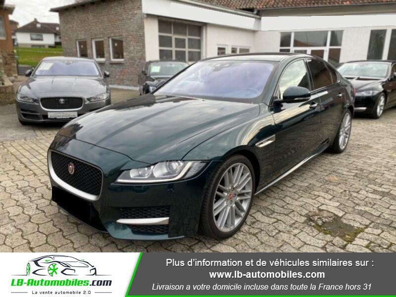 Jaguar XF V6 3.0 D - 300 ch Vert occasion à Beaupuy - photo n°9