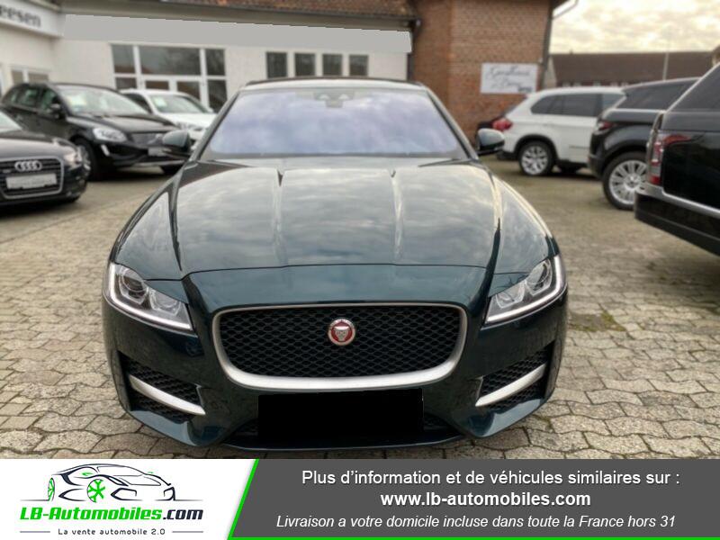 Jaguar XF V6 3.0 D - 300 ch Vert occasion à Beaupuy - photo n°8