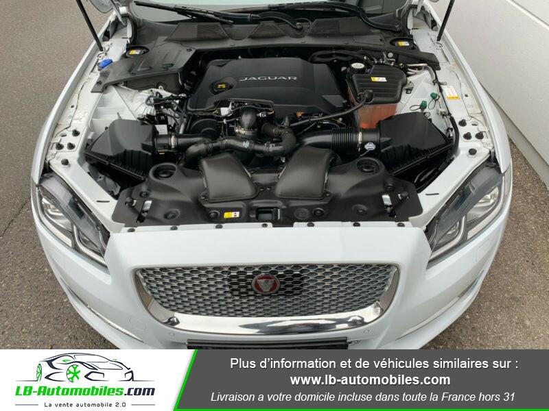 Jaguar XJ 3.0 D V6 300 ch Blanc occasion à Beaupuy - photo n°14