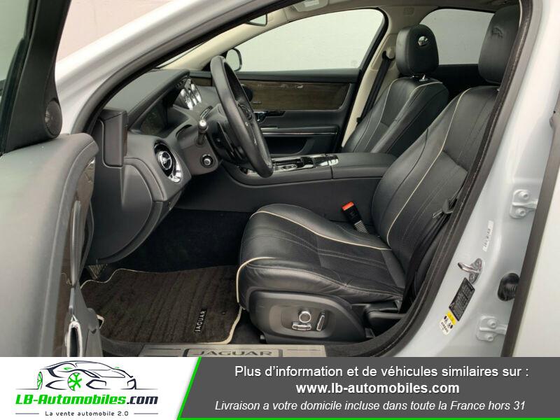 Jaguar XJ 3.0 D V6 300 ch Blanc occasion à Beaupuy - photo n°11