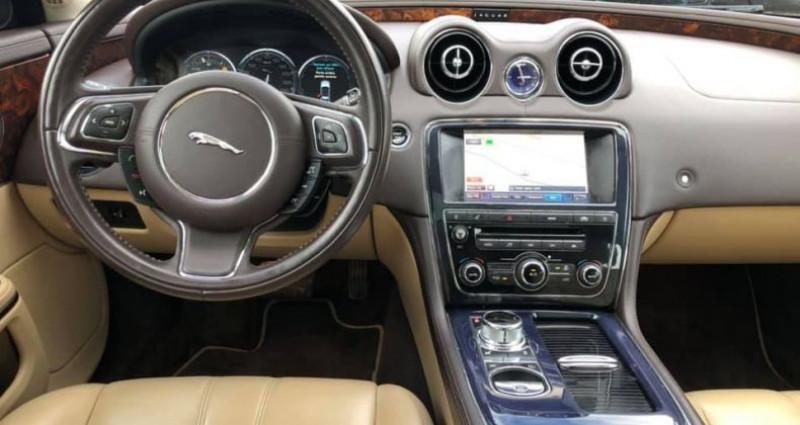 Jaguar XJ 3.0D V6 275ch Luxe Premium BVA6 Noir occasion à Vire - photo n°7