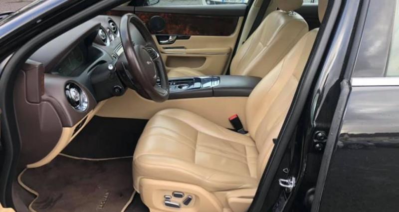 Jaguar XJ 3.0D V6 275ch Luxe Premium BVA6 Noir occasion à Vire - photo n°6