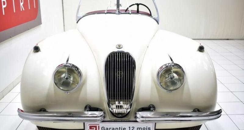 Jaguar XK 120 Roadster Blanc occasion à La Boisse - photo n°5